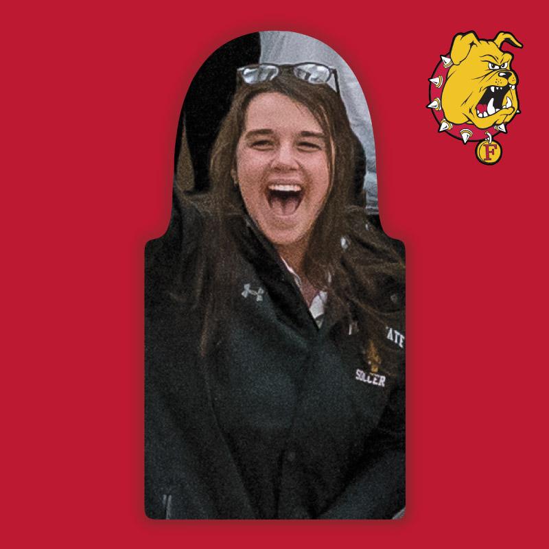 Womens Basketball Package : Ferris State Fan Cutout