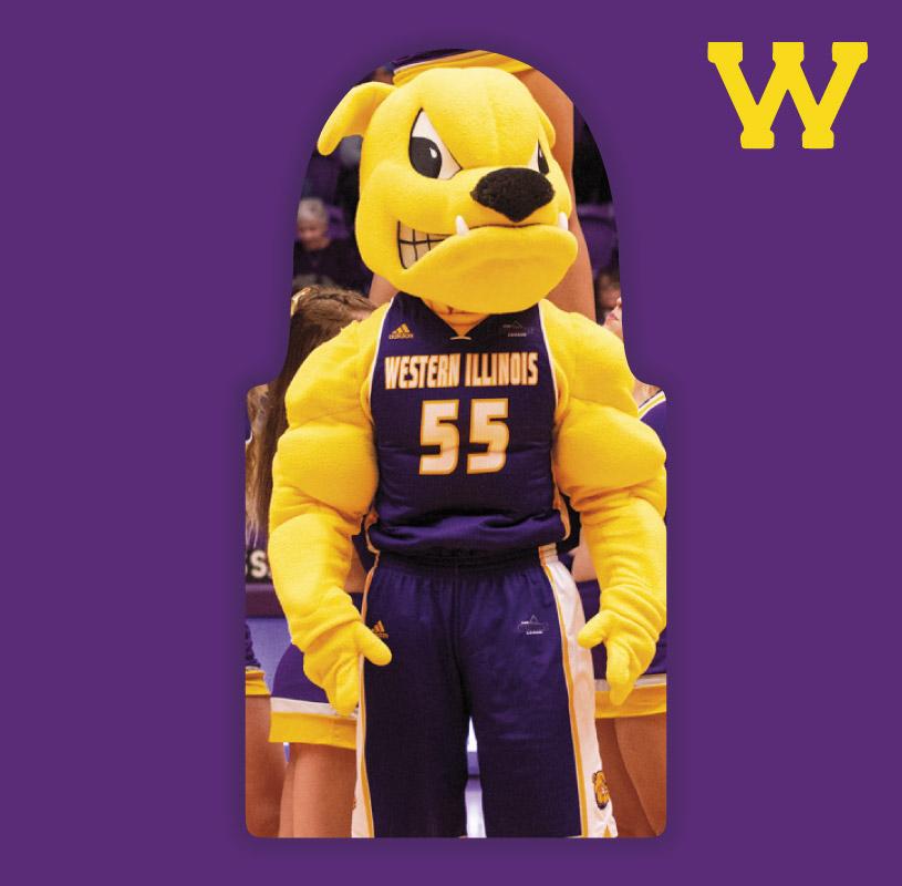 Purple & Gold Package : Western Illinois University